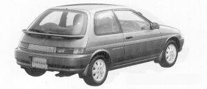 Toyota Corolla II 1500ZS 1991 г.