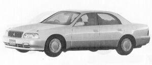 Toyota Crown Majesta C GSP ELECTRO MULTIVISION 1991 г.
