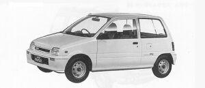 Daihatsu Mira PIT-4WD 1991 г.