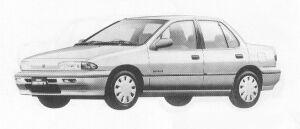 Isuzu Gemini SEDAN 1500 GASOLINE  C/C 1991 г.