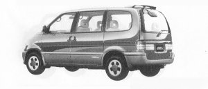 Nissan Vanette SERENA 2WD PX TOURING PACK GASOLINE 2000 1991 г.