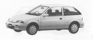 Suzuki Cultus HATCH BACK 3DOOR ELENY 1000 1991 г.