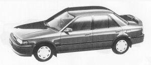 Mazda Familia 4DOOR SEDAN 1500 DOHC 16VALVE INTABLE 1991 г.