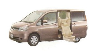 Nissan Serena Enchante (Second seat type) 20S (2WD) 2005 г.