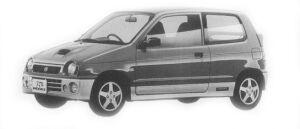 Suzuki Alto Works RS/Z 1996 г.