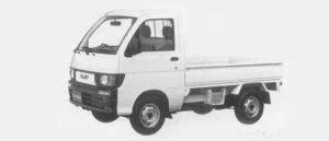 Daihatsu Hijet STANDARD 2WD 1996 г.
