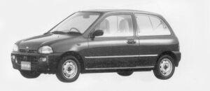 Subaru Vivio 3DOOR VAN ef-s 1996 г.