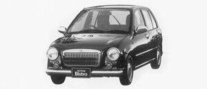 Subaru Vivio BISTRO 5DOOR 1996 г.