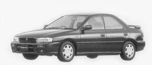 Subaru Impreza HARD TOP SEDAN SX 1996 г.