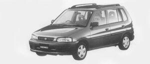 Mazda Demio LX 1996 г.