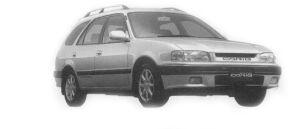 Toyota Sprinter Carib 1.6 2WD BZ TOURING 1996 г.