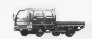 Mazda Titan 2.75T DOUBLE CAB, WIDE CABIN, LONG BODY 1996 г.