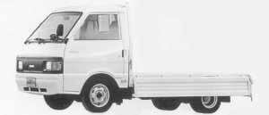 Nissan Vanette Truck 2WD SUPER LOW, DOUBLE TIRE GL DIESEL 1996 г.