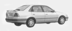 Toyota Sprinter SEDAN 1.6 S-CRUISE 1996 г.