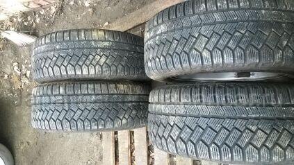 Зимние шины Continental contiviking contact3 225/55 16 дюймов б/у в Челябинске