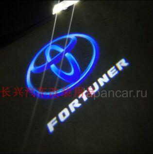 Логотипы на Toyota Fortuner во Владивостоке