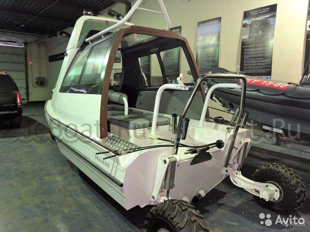катер Sealegs 6.1 D-tube Cabin 2012 года