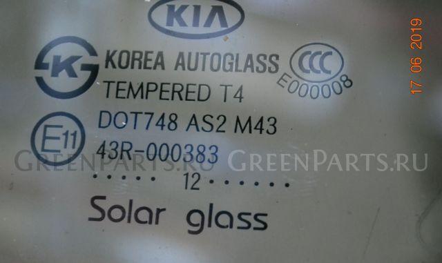 Стекло двери на Kia Sorento II XM