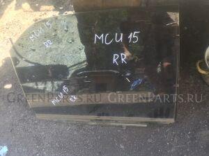 Стекло двери на Toyota Harrier MCU15