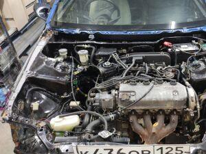 Двигатель на Honda Civic D15B