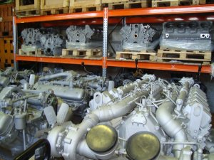 Двигатель на ЯМЗ