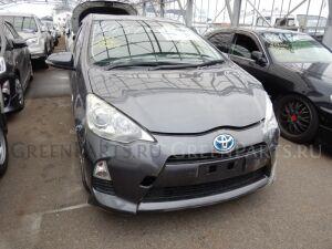 Защита бампера на Toyota Aqua NHP10 1NZ