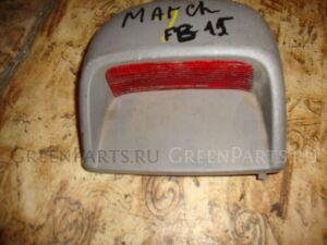 Стоп-сигнал в салоне на Nissan Sunny FB15 4868