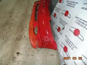 Бампер на Toyota Vitz SCP10 504