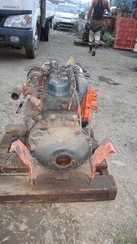 Двигатель в разборе d1301 Kubota