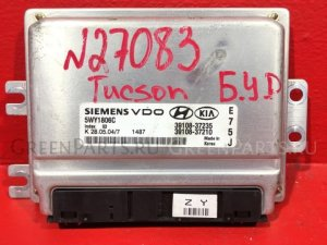 Блок управления двигателем на Hyundai Tucson JM G6BA, 2.7V6 3910837210