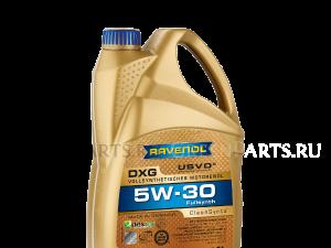 Масло моторное DXG 5W-30 синтетическое; 4 л