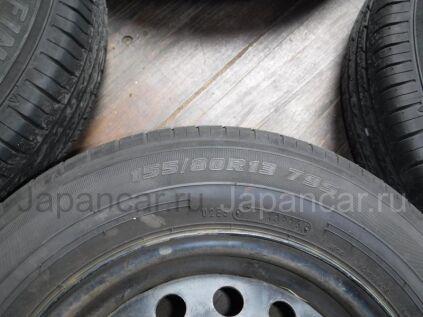 Зимние шины Ecofine 155/80 13 дюймов б/у во Владивостоке