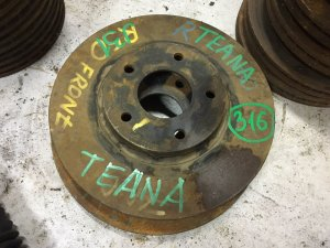 Диск тормозной на Nissan Teana J31