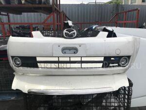 Бампер на Mazda Demio DY белый