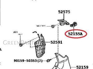Крепление бампера на Toyota Belta SCP92, NCP96, KSP92