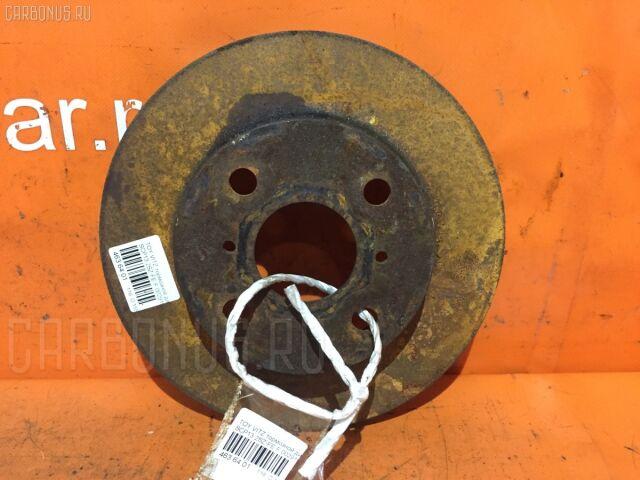 Тормозной диск на Toyota Vitz SCP13 2SZ-FE