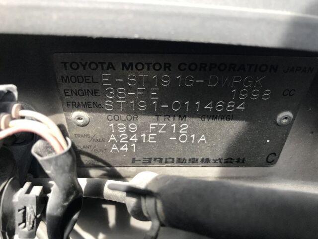 Датчик abs на Toyota Caldina ST191G 3S-FE