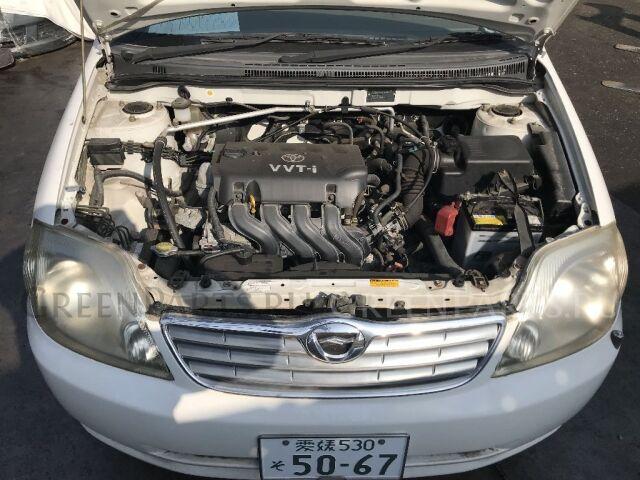 Тросик капота на Toyota Corolla Spacio NZE121N, ZZE122N, ZZE124N