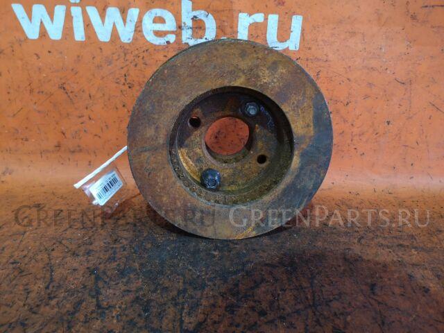 Тормозной диск на Nissan Tiida Latio SC11, SZC11