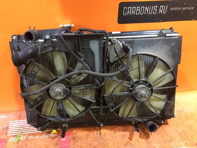 Радиатор двигателя на Toyota Celsior UCF30, UCF31 3UZ-FE