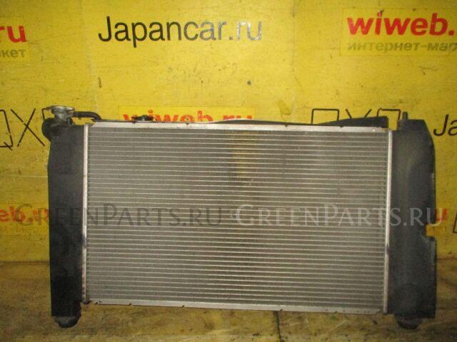 Радиатор двигателя на Toyota Will VS ZZE129 1ZZ-FE