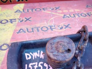 Крепление запаски на Toyota Dyna XZU411