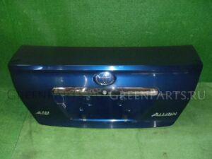 Крышка багажника на Toyota Allion ZZT240 1ZZ-FE