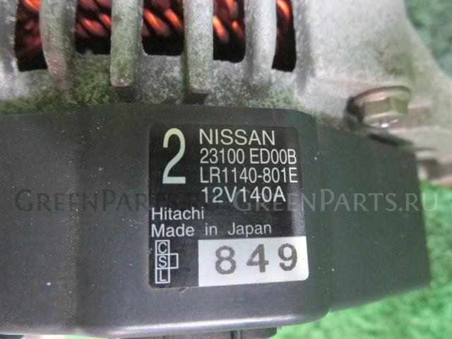 Генератор на Nissan Note E11 HR15DE