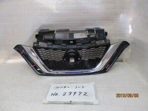 Решетка радиатора на Nissan Note E12 HR16DE