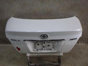 Крышка багажника на Toyota Mark X GRX120 4GRFSE