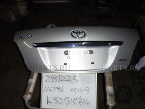 Крышка багажника на Toyota Belta NCP96 2NZ-FE