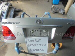 Крышка багажника на Toyota Crown GRS183 3GR-FSE