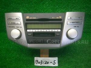 Автомагнитофон на Toyota Harrier ACU30W 2AZ-FE