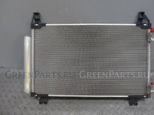 Радиатор кондиционера на Toyota Vitz NSP130 1NR-FKE